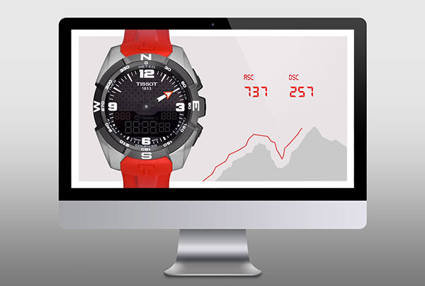 Motion Graphics animation Tissot